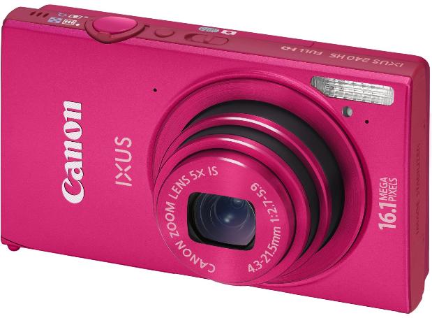 Canon-IXUS-240-HS-Digitalkamera-pink