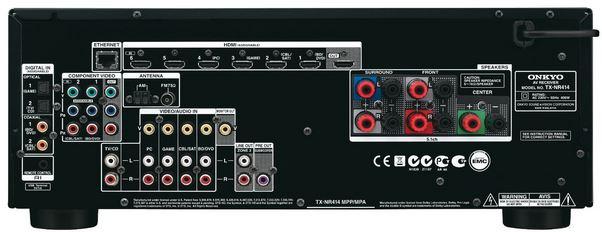 Onkyo-TX-NR414-5-1-Netzwerk AV-Receiver-Reduziert