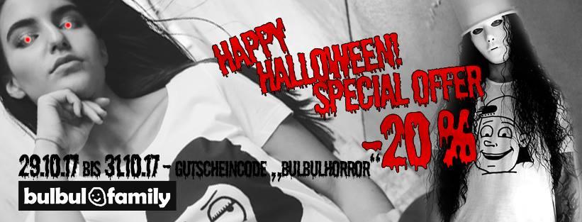 Gutscheincode bulbulfamily Halloween Special