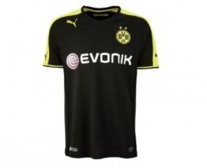 Borussia Dortmund Auswaerts Trikot Saison 2013 - 2014