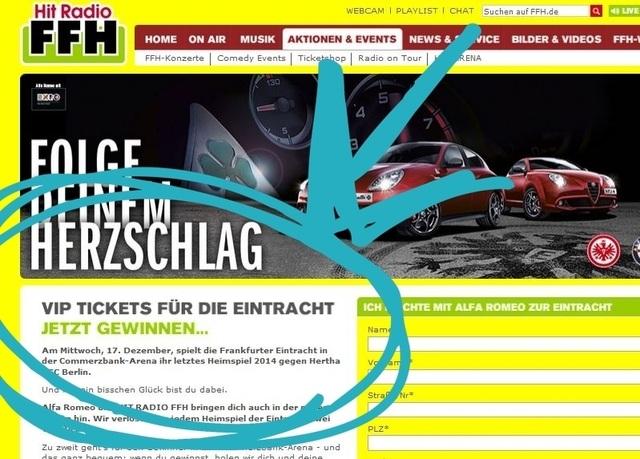 VIP Tickets für die Eintracht Frankfurt Heimspiele gewinnen