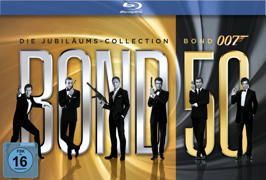 Gratiszugabe James Bond Jubiläums Collection