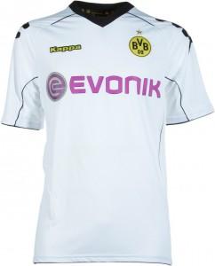Borussia Dortmund Fan Trikot in weiss von Kappa