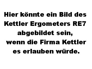 Kettler Ergometer RE7 - Kettler Fitness Geräte