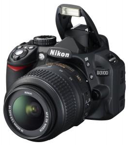 Nikon DSLR D3100 Frontansicht