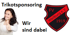 Trikotsponsoring FV Weilburg